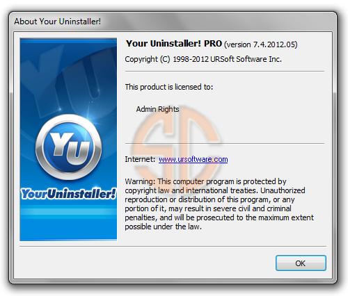 Your Uninstaller! PRO 7.4.2012.05 Full Serial
