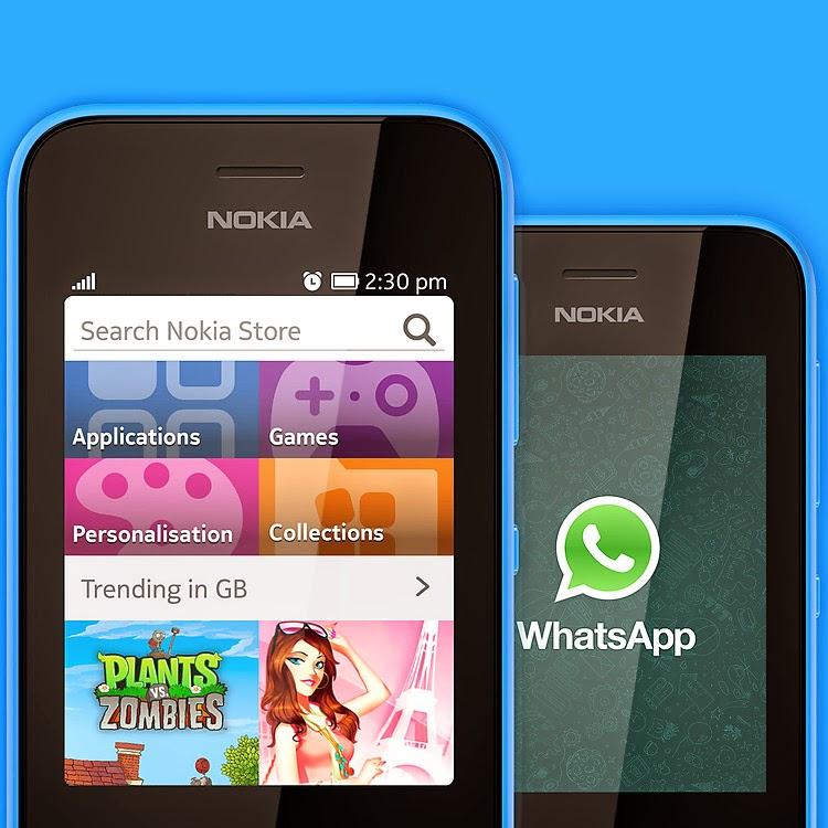 Nokia Asha 230 (Single SIM) - Nokia Asha 230 Dual SIM