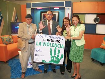SOY PERIODISTA Y CONDENO LA VIOLENCIA, EN TELEUNIVERSO