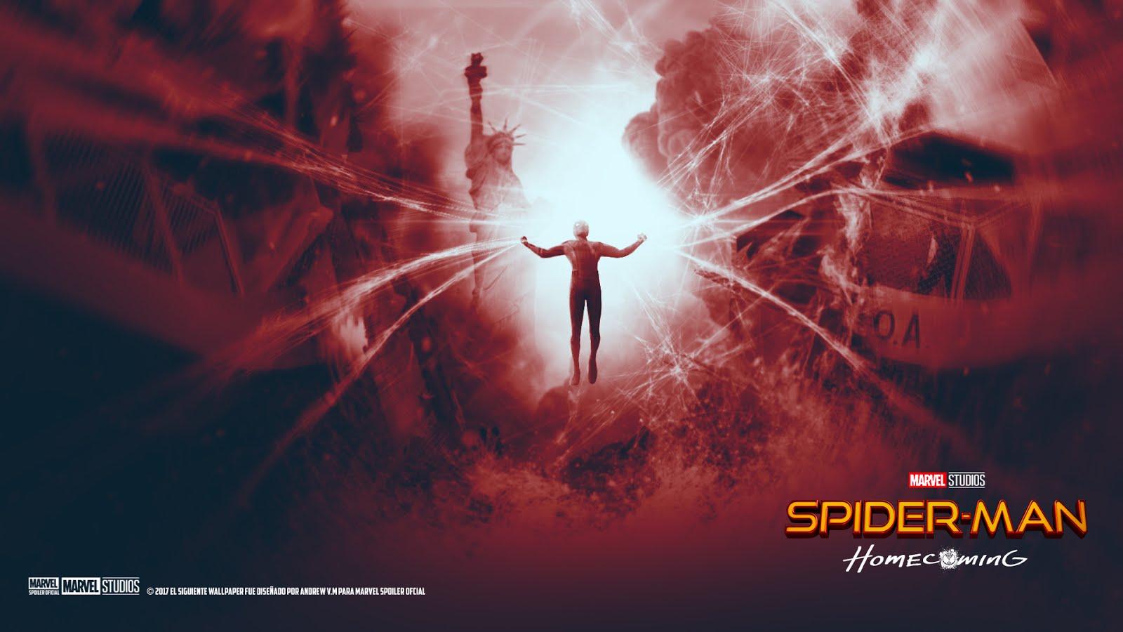 Marvel Spoiler Oficial Nuevo Wallpaper De Spider Man