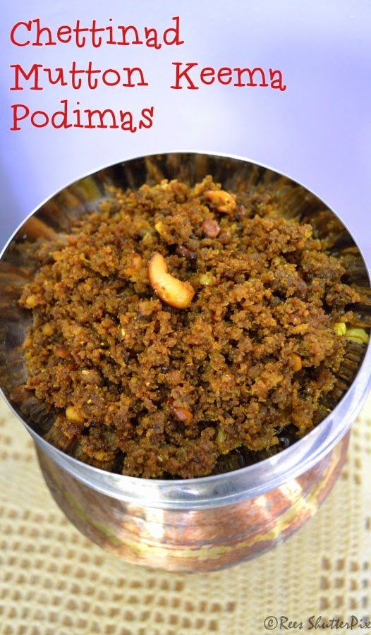 how to make chettinad mutton keema podimas recipe