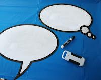 Globos de diálogos.