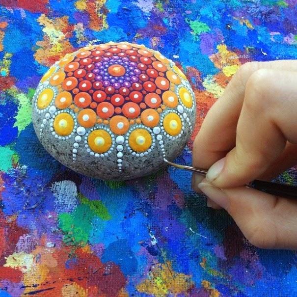 colorful ocean stones Elspeth McLean-2