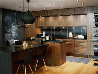 Neo arquitecturaymas interiores con paredes de pizarra - Revestimiento paredes interiores pizarra ...
