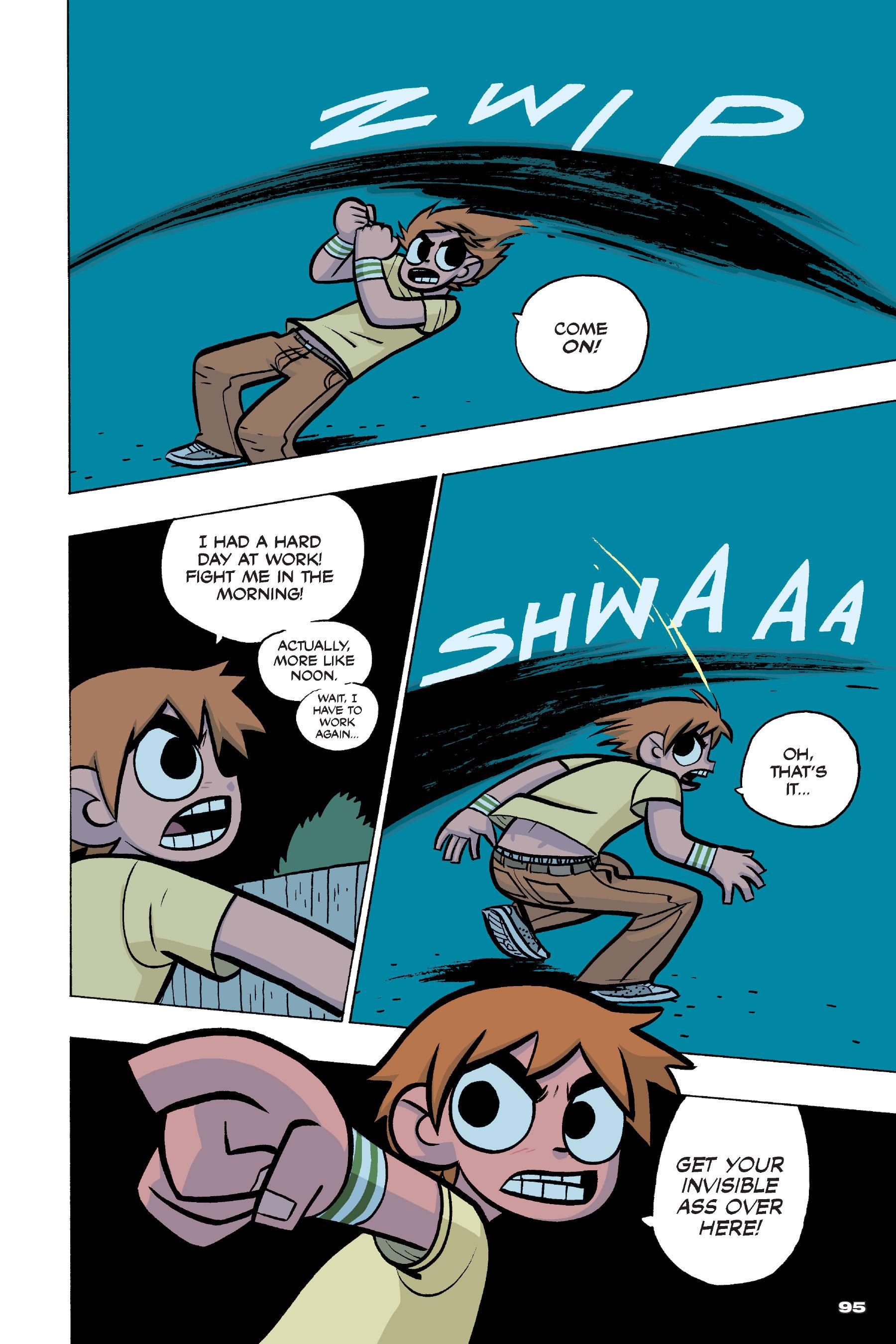 Read online Scott Pilgrim comic -  Issue #4 - 93
