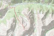 La Plata Peak - Standard Route la plata topo
