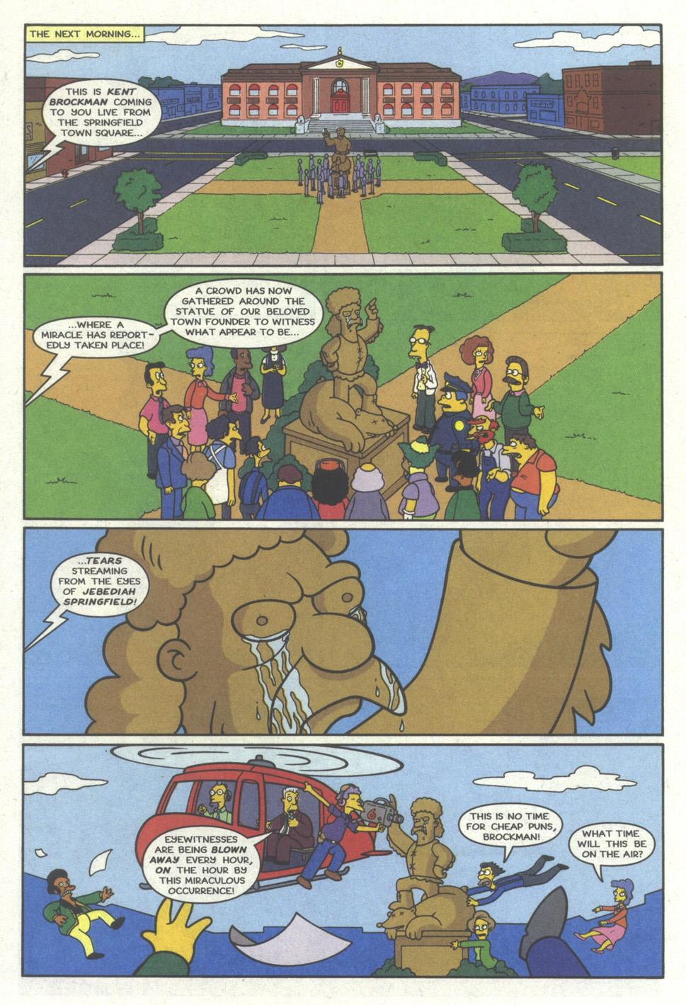 Read online Simpsons Comics comic -  Issue #19 - 9