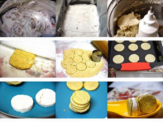צעד צעד עוגיות קוואקר step by step quaker cookies