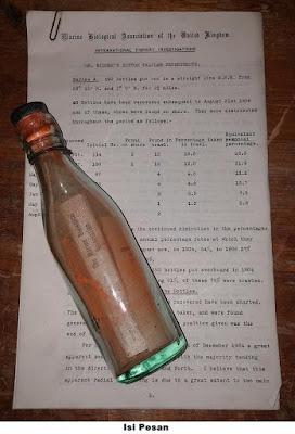 Pesan Dalam Botol Tertua Ditemukan Utuh