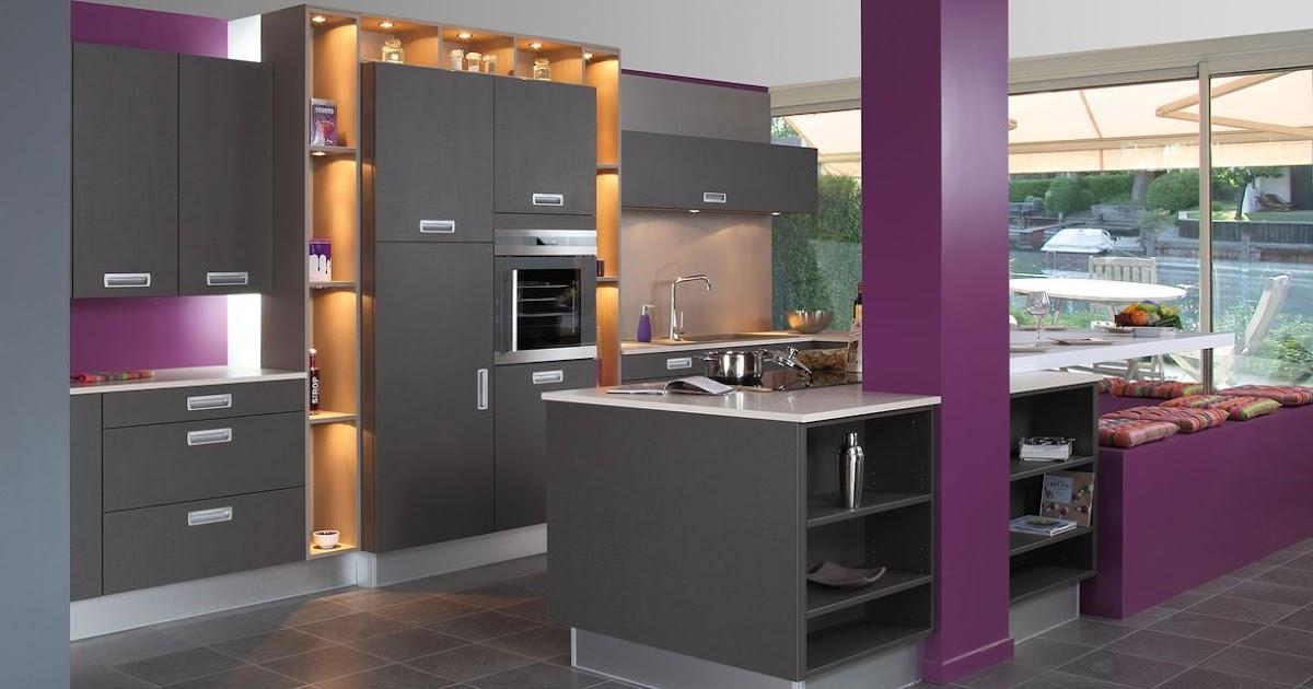 cuisine moderne d co. Black Bedroom Furniture Sets. Home Design Ideas