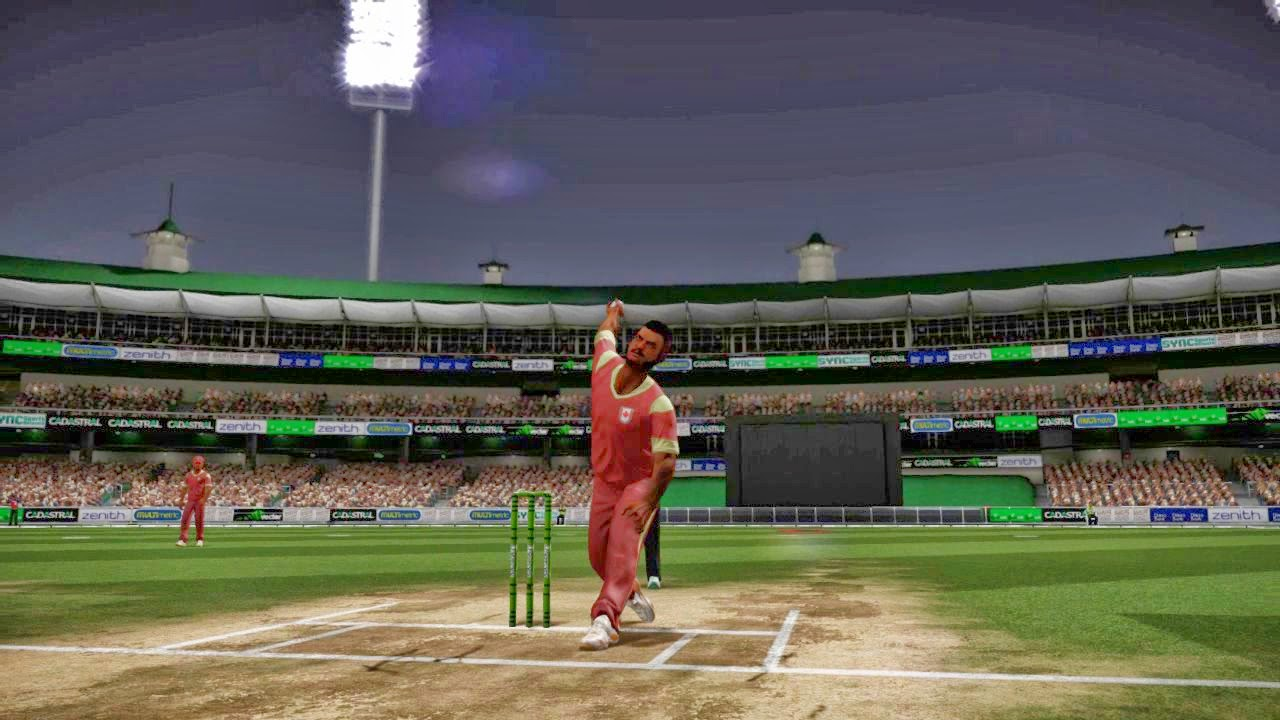 Australian developed Cricket game