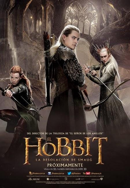 Nuevos Posters de El Hobbit: La desolación de Smaug