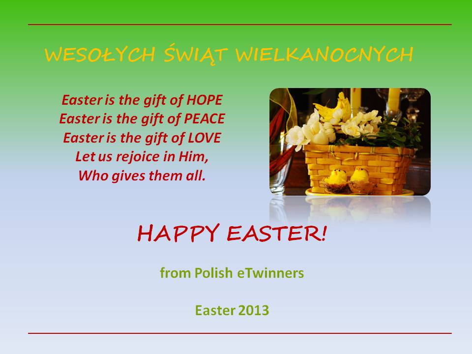 Blogtrotters across europe happy easter form polish friends happy easter form polish friends negle Image collections