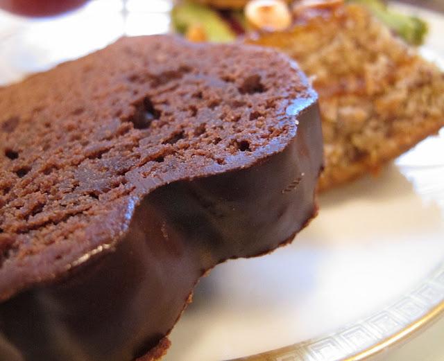 L'heure du thé au Crillon - Cake au chocolat