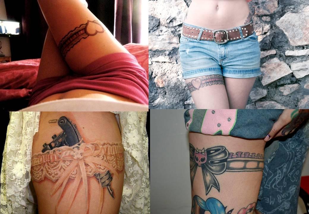 Cinta Liga Tattoo Tatuagens 4jpg