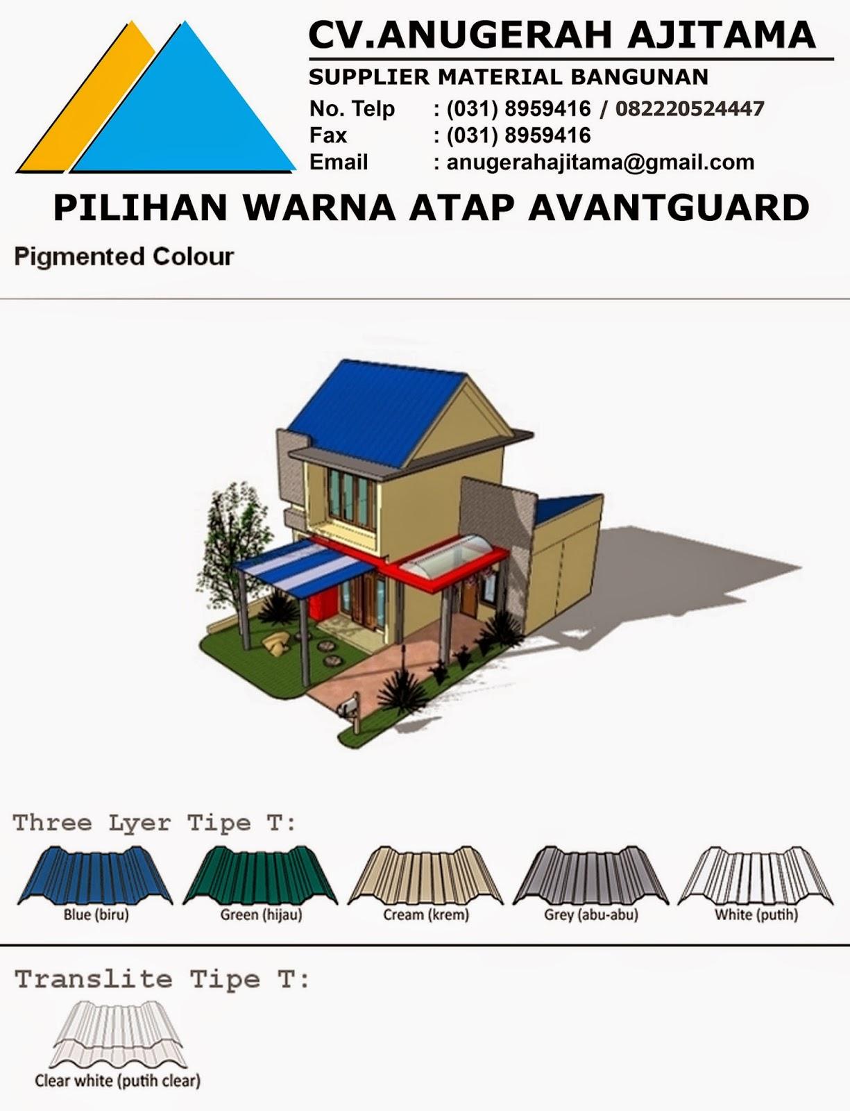 warna atap upvc avantguard aksesoris atap upvc avantguard brosur atap ...