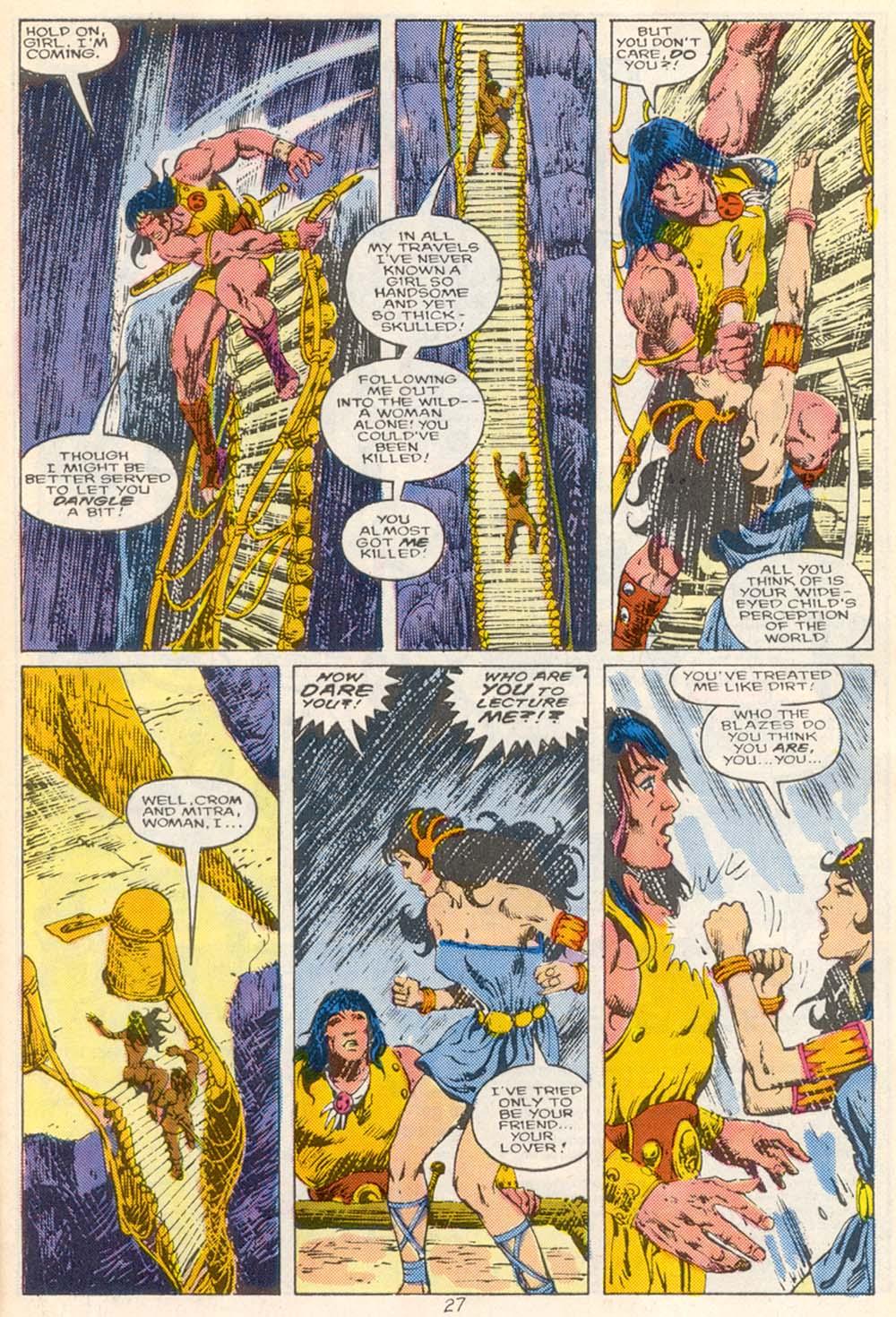 Conan the Barbarian (1970) Issue #210 #222 - English 21