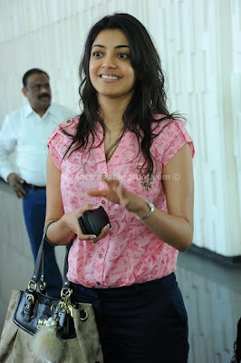 Kajal Agarwal At CCL Matches
