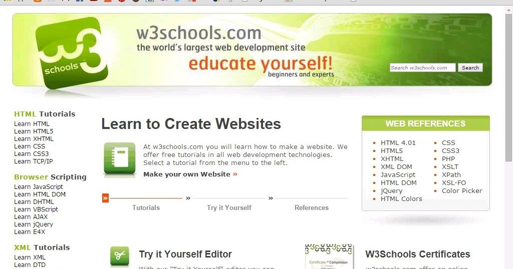 Teachers W3schools Offline Version Download Full Website