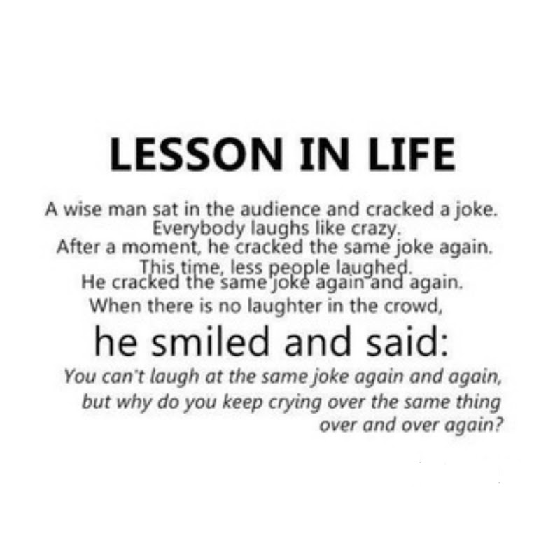#03-Quotes : Lesson In Life