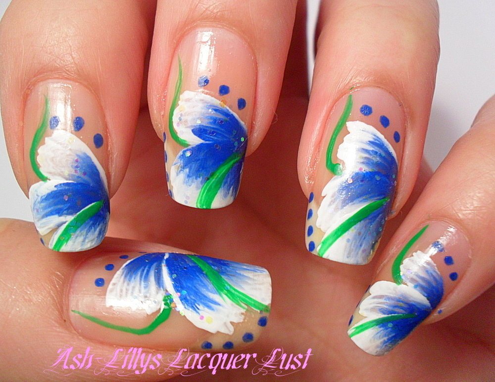 The bloomin couch one stroke nail art also dont panic about using only nail art brushes if you want to use the real thing planet nails is the place to go but otherwise make a stop at your prinsesfo Gallery