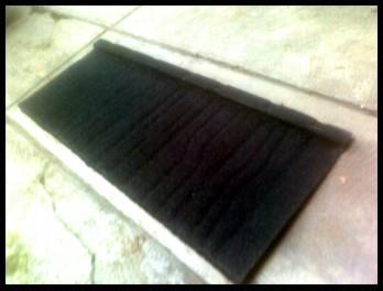 Harga Rangka atap Baja Ringan + genteng metal mulai dari :