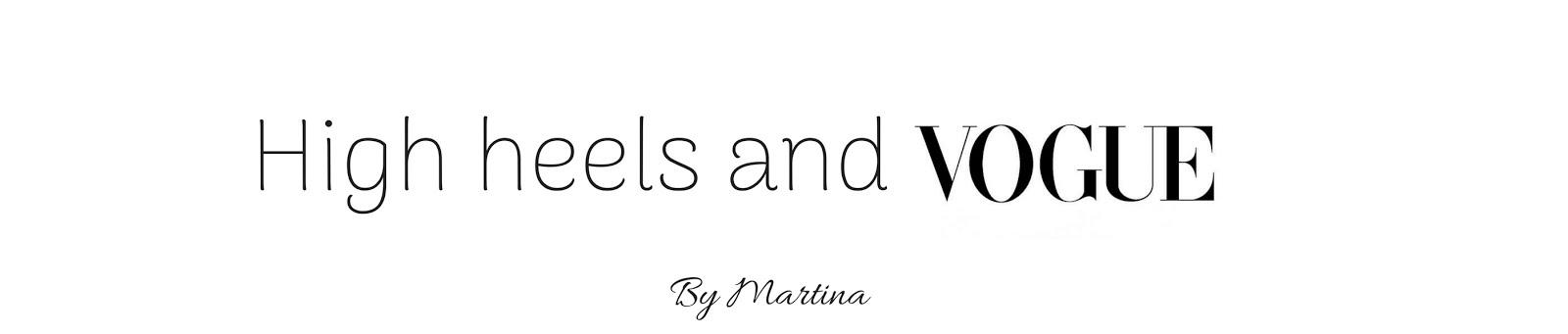 high heels & vogue
