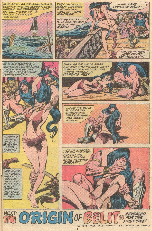 Conan the Barbarian (1970) Issue #58 #70 - English 22
