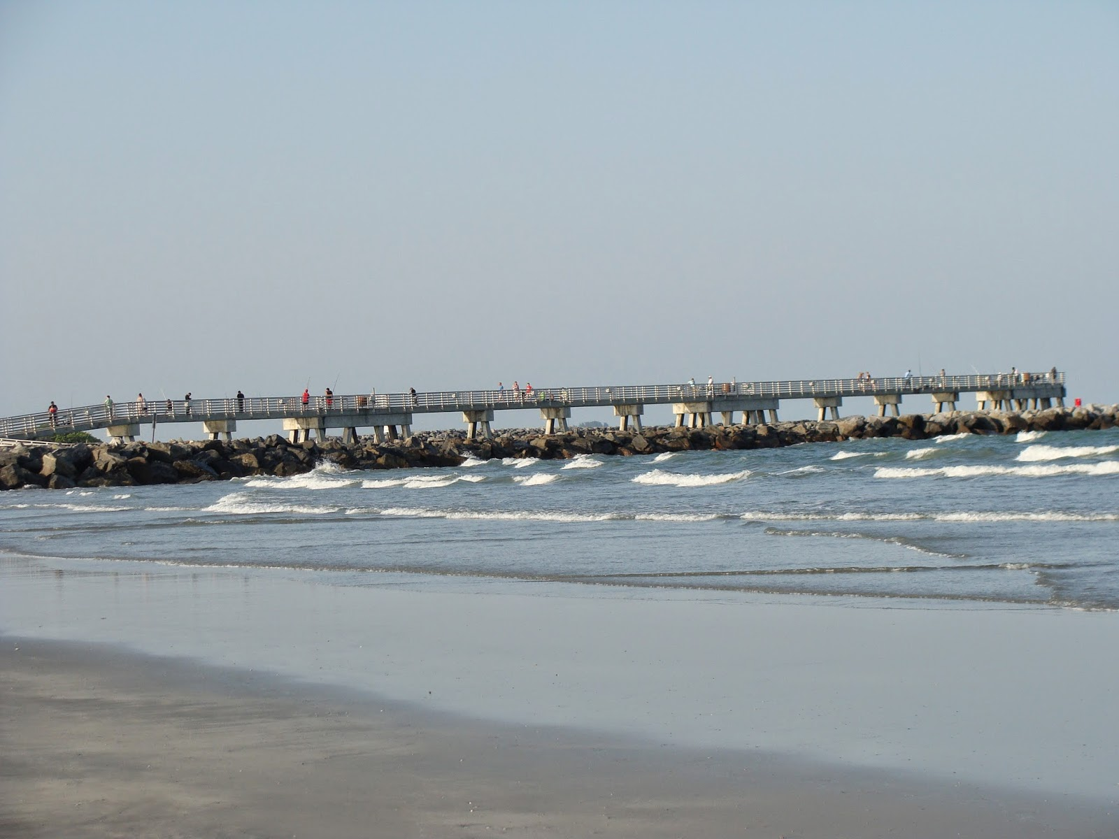 The simmons saga jetty park cape canaveral for Cape canaveral fishing