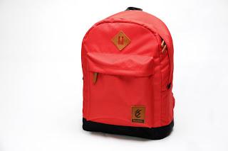 Tas laptop lucu warna merah