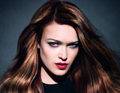Цвят на косата Пролет/Лято 2012 Schwarzkopf тренд Dark Angels