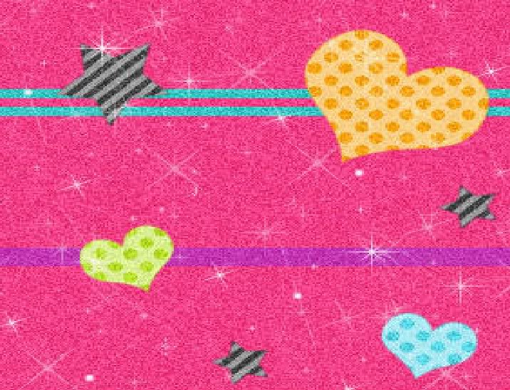 stars and hearts background |See To World