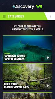 Sharks, skateboards, survival debut on Discovery VR network