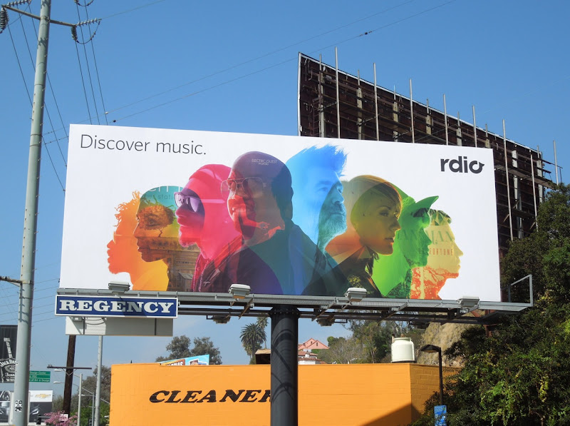 Discover music rdio billboard