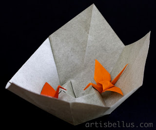 Decorative Bowls - New Origami Model