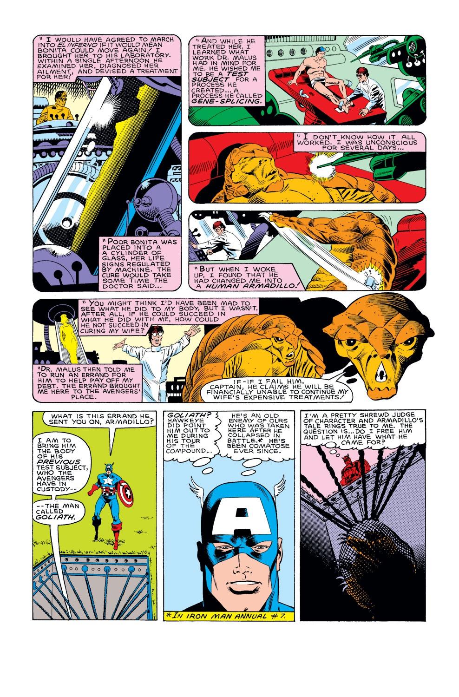 Captain America (1968) Issue #308 #236 - English 14