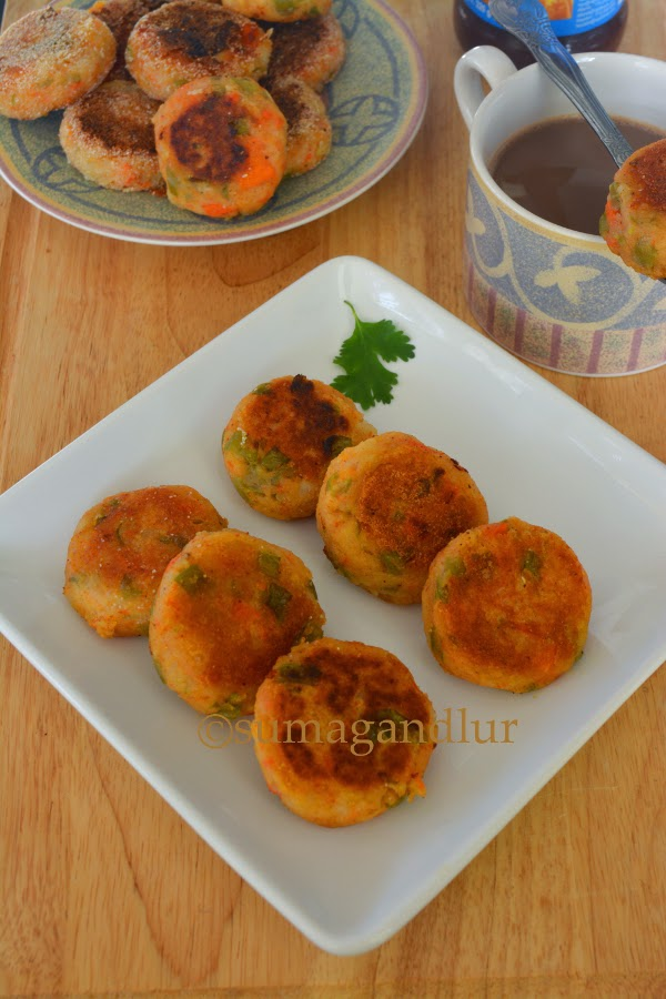 Vegetable Tikkis