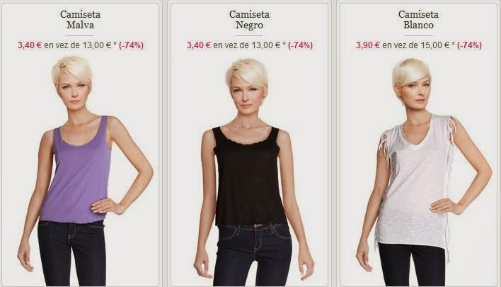 Camisetas baratas de Folia