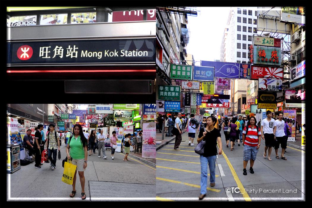 thirtypercentland Mong Kok