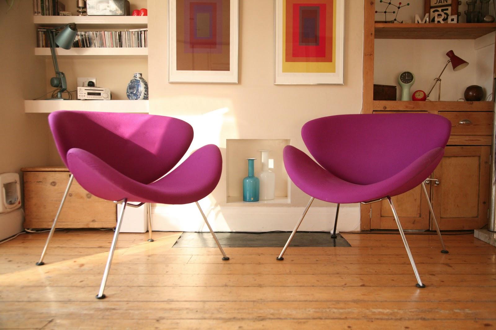 Pierre Paulin Orange Slice Chair From 1960 By Artifort | © Cream U0026 Chrome  Vintage Furniture U0026 Lighting Stardust.com
