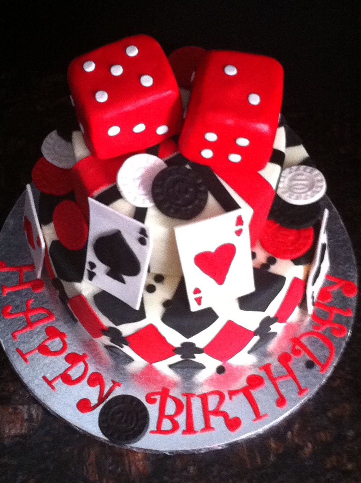 Casino birthday cake want stop gambling but can t