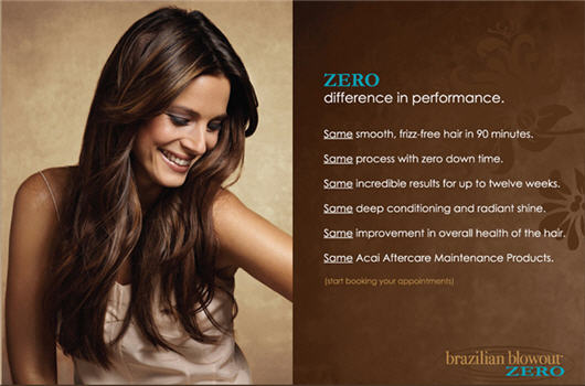 Does Brazilian Blowout Zero Damage Hair 53