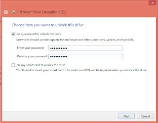 cara proteksi flashdisk menggunakan password