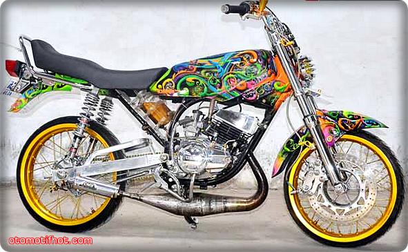 terbaru modifikasi motor rx king paling keren