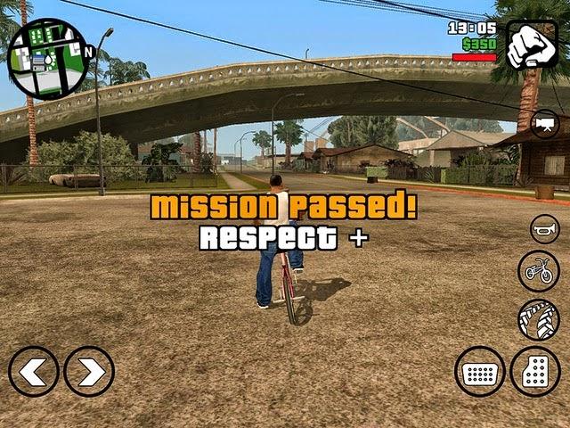 GTA San Andreas Andorid New