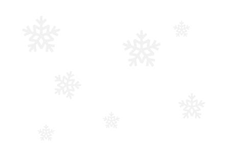 darmowe zimowe tło na bloga - szare śnieżynki na białym tle