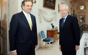 Σαμαράς και Μόντι: Επιθυμούμε την υποταγή της Ελλάδας στο δημοσιονομικό σύμφωνο…