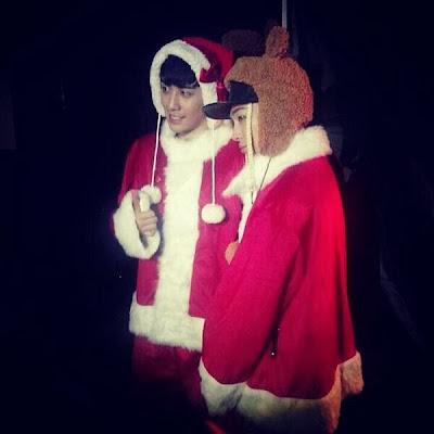 seungri taeyang snsd christmas 2013