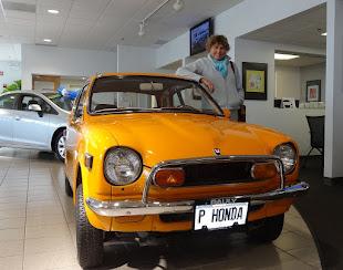 Honda 600.