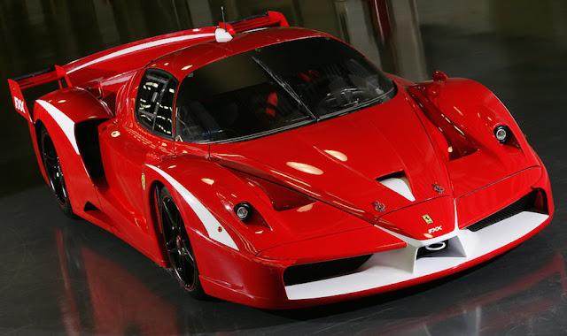 スーパーカー フェラーリFXX